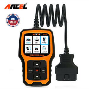 Automotive Car Diagnostic Tool Obd 2 Scanner Code Reader Analyzer Ancel Ad410