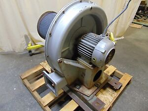 5 Hp Industrial Pressure Blower Fan 6 Inlet 230 460v 3 Phase