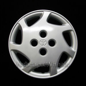 Hubcap For Toyota Corolla 1998 2000 Genuine Oem Factory 14 Wheel Cover 61098