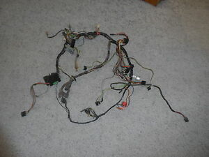 1969 Cougar Xr7 Eliminator Dash Wiring Harness W Relays 17 pin White Cluster