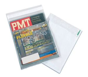 50 3 9x12 Clear View Poly Mailers Shipping Envelopes Plastic Mailing Bags By