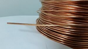 Soft Annealed Ground Wire Solid Bare Copper 8 Awg 130 Feet Jewelry Electric
