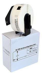 Non oem Fits Brother Dk 1201 Labels 1 Roll Of 400 With Permanent Frames