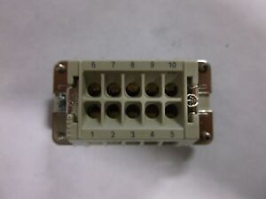 Ilme Connector Plug Inserts Cnf 10 10 Pin Female 23450 To 10 Pin Male Vr2