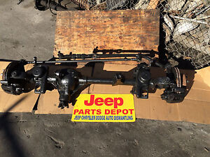 1997 2006 Jeep Wrangler Tj Oem Front Differential Assy Complete Axle Dana 30 373