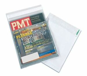 7000 1 6x9 Clear View Poly Mailers Shipping Envelopes Plastic Mailing Bags By