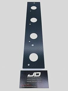 Jdc Carbon Fiber Mounting Plate For Evo 4 8 Cop Kit Coil On Plug Free Hardware