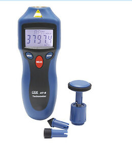 Hi accuracy0 05 contact Non contact Rpm Engine Tachometer Laser Pointer At 8 c