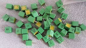 Wima Capacitor Fkp2 015 63 2 5 Lots Of 400 Pieces