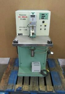 Panasonic Hi max 500 Yg 508spa 3 Air Press Resistance Spot Welder 500w 1kva