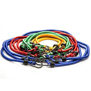 New 7 14 28 Bungee Cord Kit Assorted Size Set 18 24 30 40 Inch Coated Steel Hook