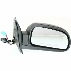 New Mirror Passenger Right Side Olds Chevy Power Folding Heated Textured Black