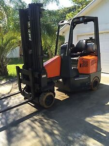 Aisle Master Forklift 2002 Propane 3 Stage Mass 7200 Hours Everything Works