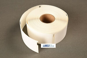 5 Rolls Dymo Compatible 30373 Large Price Tag Rat Tail Style 400 Labels Roll