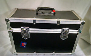 hardside road case 17 x 8 x 11 1 4 empty