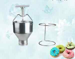 Manual Donut Maker pastry Donut Filler Machine Stainless Steel free Shipping