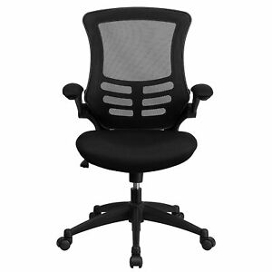Thornton s Office Supplies Mid back Mesh Swivel Desk Chair