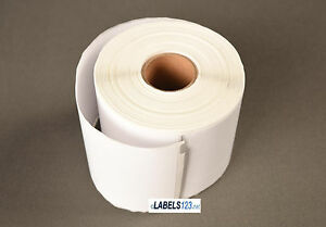 White Paper 24 Rolls Internet Shipping Labels 100 Blank Dymo Lw Return 30387