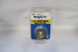 1 1 2 Rotacut Sheet Metal Cutter 11 000 Series Hougen Part Number 11168