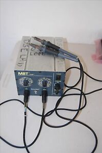 Pace Mbt Variable Temp Soldering Station Pps 80a W 2 Sodr pen