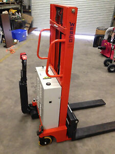 Wesco Industrial Ek 400 Stacker Electric Walk Behind Walkie Pallet Jack Lift