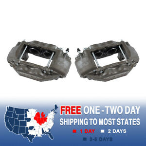 Front Brake Calipers For 2008 2009 2010 2011 2012 2015 Toyota Tundra Sequoia