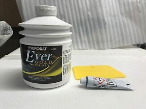 Evercoat Evergold Finishing Putty 30 Fl Oz Free Spreader