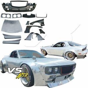 Vsaero Frp Tkyo Bunny Boss Wide Body Kit 20pc For Mazda Rx 7 Fd3s 93 97