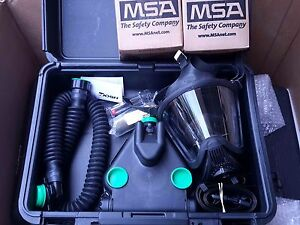 Msa C420 Responder Papr W ultra Elite Cbrn Gas Mask Nbc Filters
