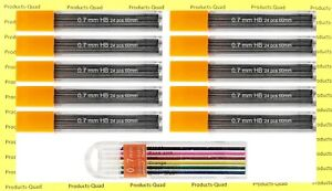0 7 Mm Lead Refills 7 Mechanical Pencil Lead Refill Includes Free Color Leads