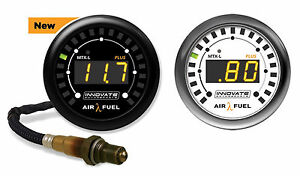 Innovate 3918 Mtx l Plus Air Fuel A f Ratio Gauge Kit 8 Cable Bosch Lsu4 9 O2