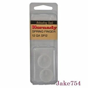 Hornady 12 Gauge Wad Guide Spring Fingers Plastic 2 Per Pack # 060001 New