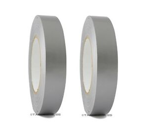 2 Rolls Silver Duct Tape 1 X 60 Yd Utility Grade Duct Tape Free Shipping
