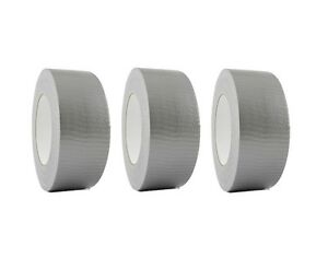 3 Rolls Silver Duct Tape 2 X 60 Yd Utility Grade Duct Tape Free Shipping