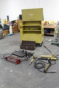 Enerpac Ms Hydraulic Maintenance And Rescue Set With Cm 3 Tool Box