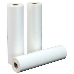 1 5 Mil Thermal Clear Laminating Rolls 27 X 500 Box Of 2 On 2 1 4 Core
