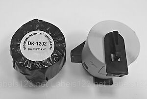 4 Rolls Non Oem Labels compatible 1202 Brother Shipping Labels Q 2 Free Frames