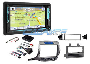 New Soundstream Bluetooth Navigation Stereo Radio W Install Kit For Camaro