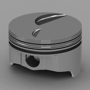 Icon Forged Piston Set Fits Ford 460 Rod 6 800 Flat Top 3 4cc 2v