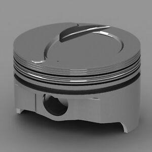 Icon Forged Piston Set Fits Ford 460 Rod 6 800 Step Dish 15cc 1v