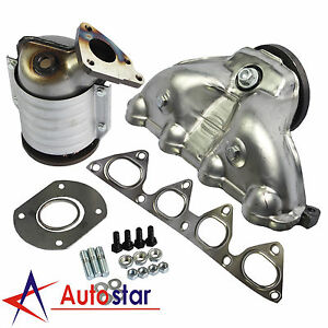Exhaust Manifold With Integrated Catalytic Converter For Honda Civic 1996 2000