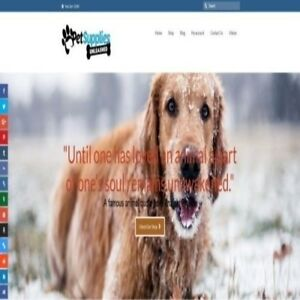 Fully Stocked Dropshipping Pet Supplies Stor Website Business secret Bonuses