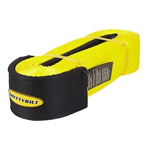 Smittybilt Cc330 Tow Strap 3 X 30 30 000 Lb With 3 4 Shakle D ring 13047b