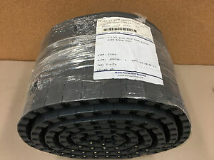 Plastic 7 1 2 Wide Grey Table Top Conveyor Belting Acetal With Nylon Rods 10ft