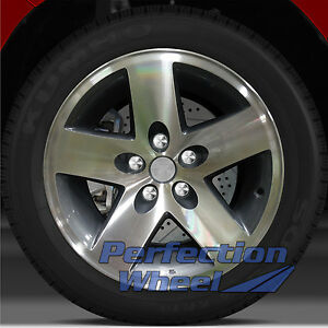 2002 2009 Jeep Wrangler 16x8 Factory Wheel Medium Charcoal
