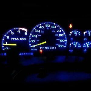8pcs Blue Led Dash Cluster Light Kit For Honda Accord 1998 2002