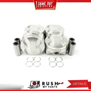 Dnj P236 Standard Size Complete Piston Set For 02 11 Honda Civic 2 0l Dohc 16v