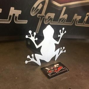 Frog Hitch Cover 1 8 Steel Tow Towing Reese Custom