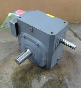 Boston 338 40 g1 40 1 Ratio Right Angle Gearbox Speed Reducer 3 4hp