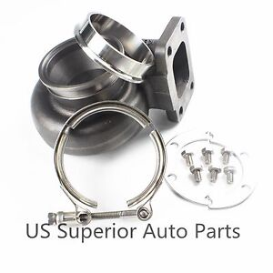 Gt3071r Gt3076r Gt30 Gtx30 Ar 63 Vband Outlet Exhaust Housing 3 Clamp Flange